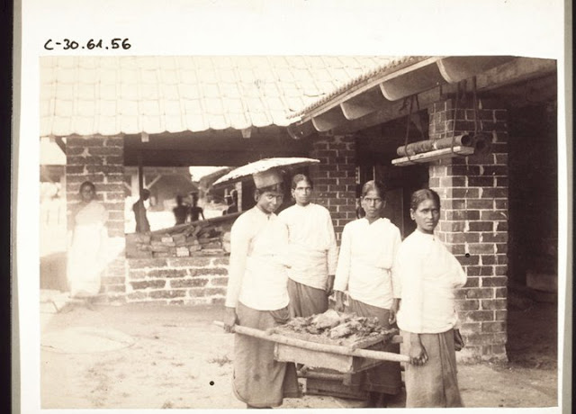 A Tile factory at Feroke in 1902