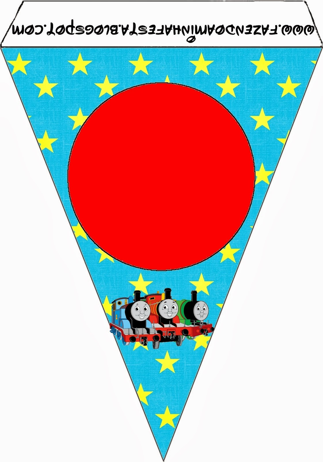 Thomas The Train Free Party Printables Oh My Fiesta