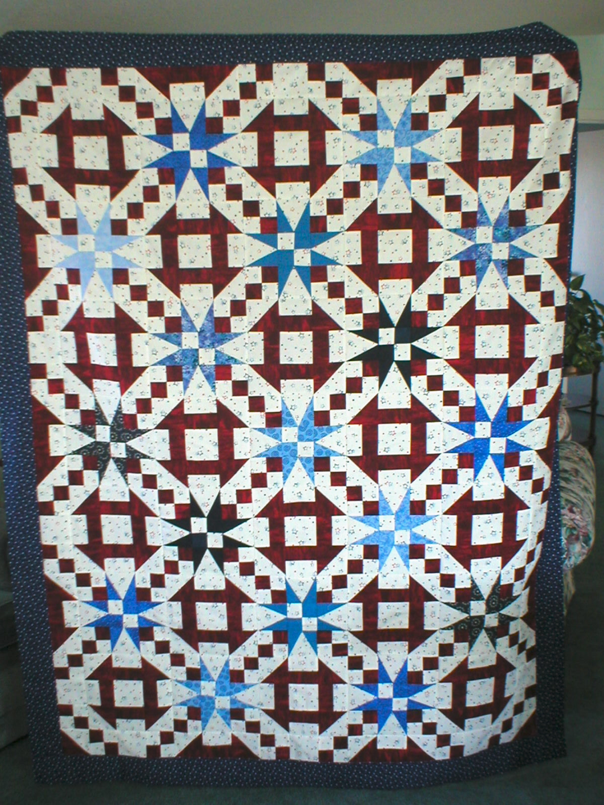 Quilts of Valor: Nancy's March Quilt of Valor