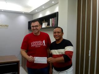 Líder comunitário Domar Justino, se filia ao MDB, e confirma pre-candidatura a vereador em Guarabira