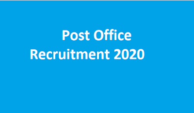 Post Office Recruitment 2020 | Latest Postal Circle Recruitment 2550 GDS Jobs