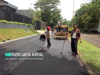 Jasa Perbaikan jalan, pengaspalan jalan, kontraktor pengaspalan, Aspal hotmix, paving block