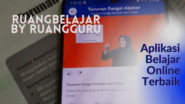 Ruangbelajar by Ruangguru Aplikasi Belajar Online Terbaik