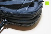 Reißverschluss: Taktische Hüfttaschen , Sahara Sailor EDC Molle Tasche Nylon Gürteltasche für Wandern, Outdoor-Camping und Radfahren mit Aluminiumkarabiner