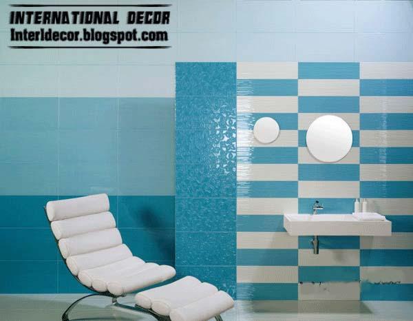 Contemporary Turquoise Bathroom Tile Designs Ideas
