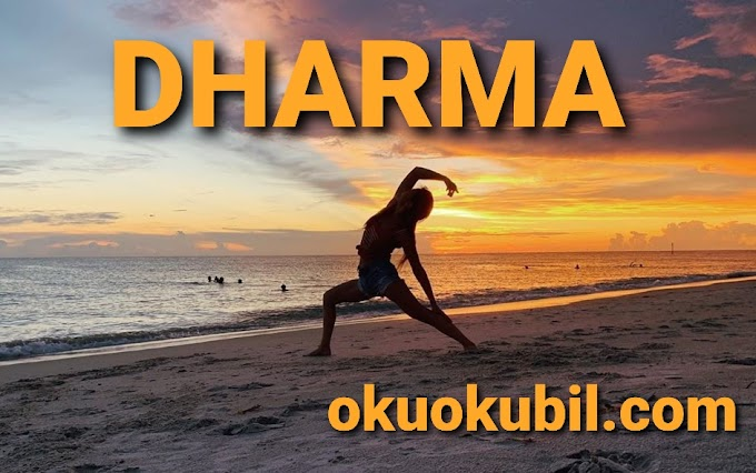 Dharma'nızı Yaşayın ( Yoga ) Ekim 2019