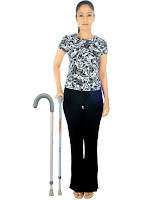 Invalid Walking Stick L Shape