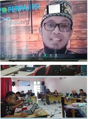 Suryo Sukses Sebagai Pemateri 40 Kabupaten Kota se-Indonesia Melalui Media Daring