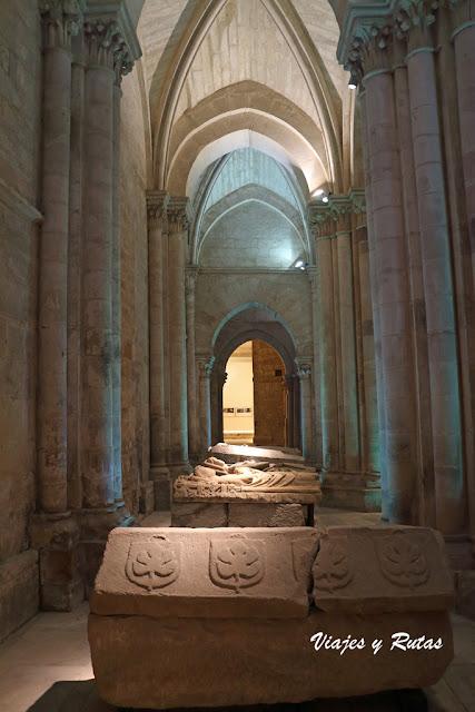 Sepulcros del Monasterio de Santa María la Real