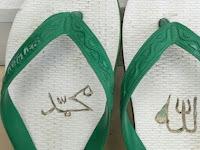 Astaga, Sandal Jepit Lafaz Allah-Muhammad Ada Di Masjid, Jamaah Geram & Ingin Pancing Pemiliknya