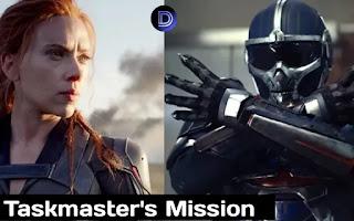 Marvel Black Widow tells about Taskmasters mission