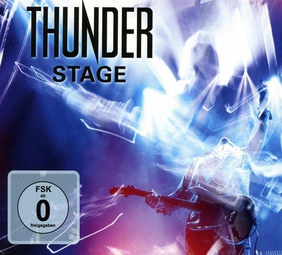 THUNDER - Stage [2-CD Digipak] (2018) full