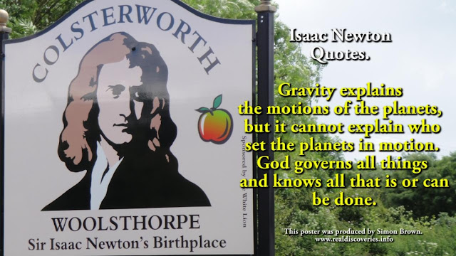Sir Isaac Newton on GOD.