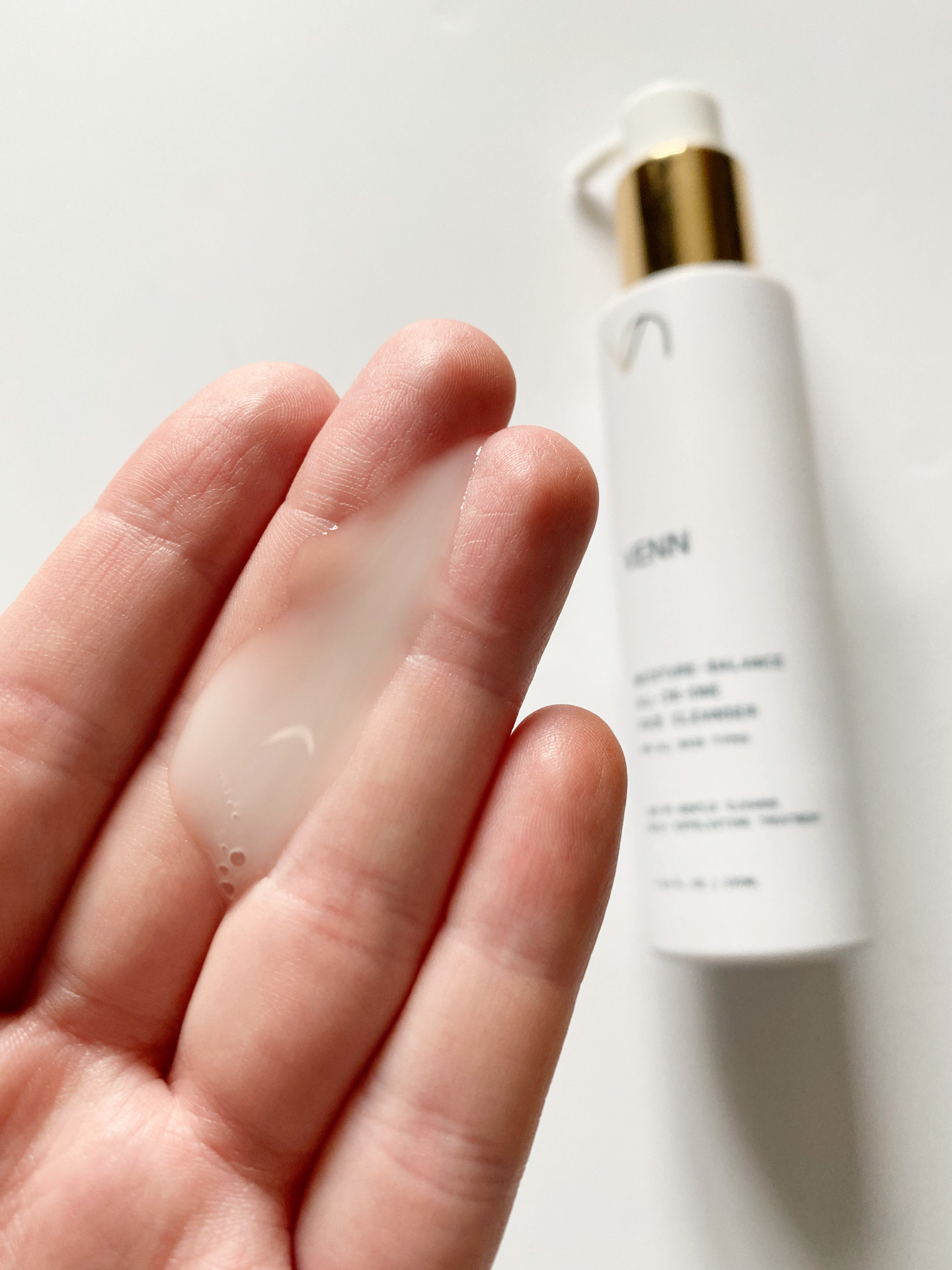 venn skincare moisture balance all in one cleanser review