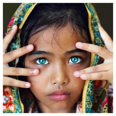 As crianças com os olhos mais bonitos do mundo