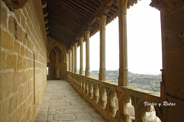 Mirador de la Iglesia de Santa María de Ujué