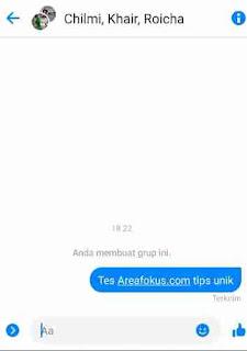 Cara membuat Grup di Messenger
