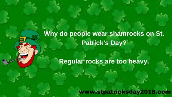 Happy St Patrick's Day Jokes 2018