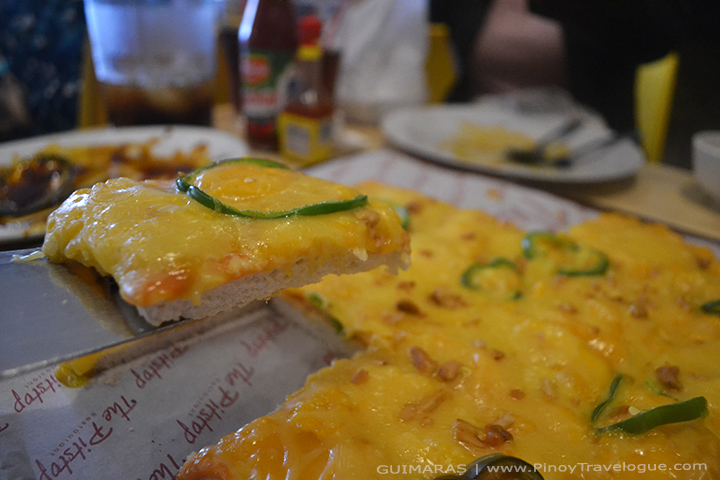 Mango Pizza at The Pitstop Restaurant, Guimaras