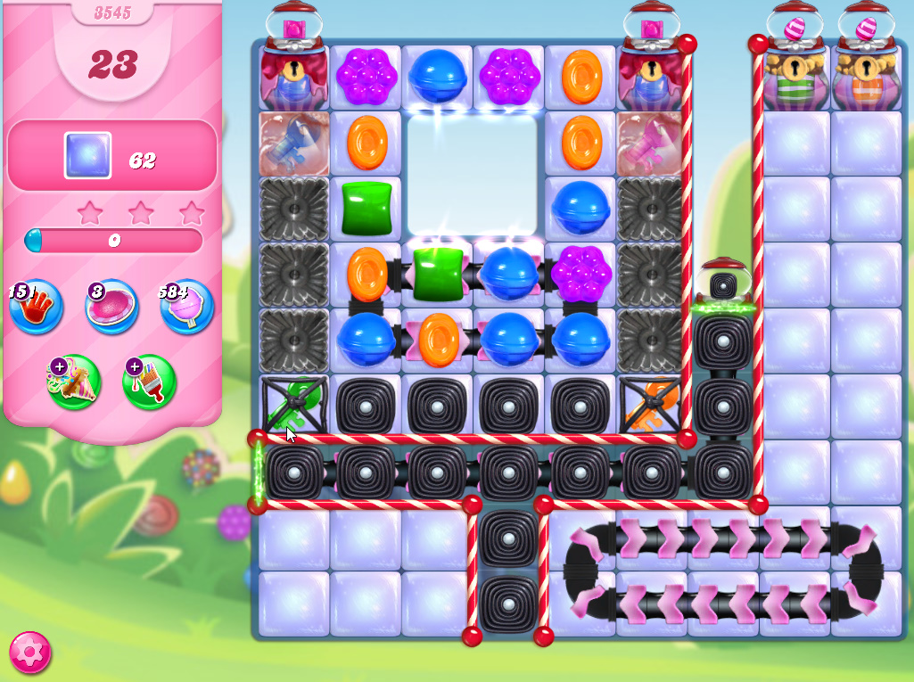 Candy Crush Saga level 3545