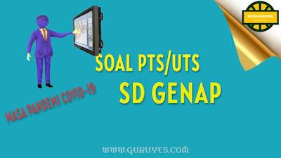 yang dapat anda download secara gratis berserta jawabannya untuk Soal UTS Download Soal PTS Seni Budaya Kelas 1 SD Semester 2 Kurikulum 2013