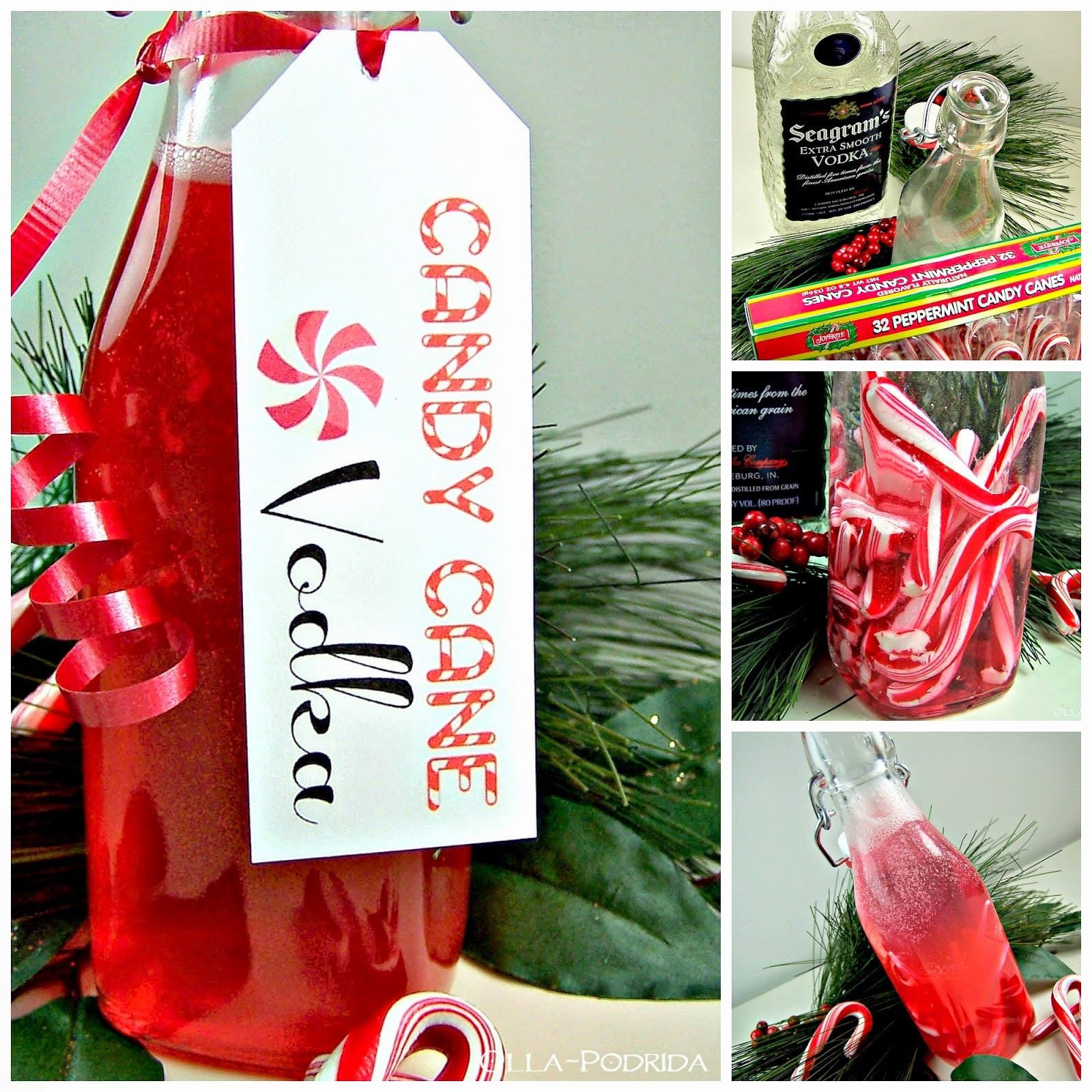 Candy Cane Vodka Recipes, shared by Olla Podrida