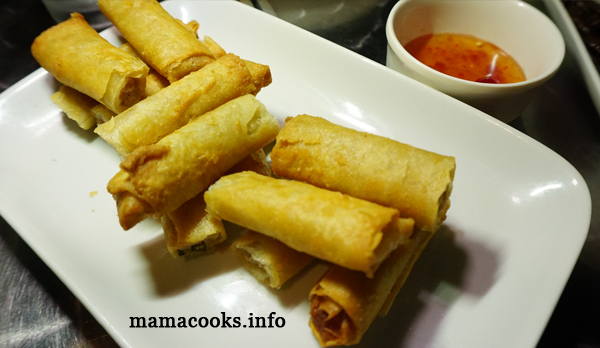 Stow Away Restobar - Bacolod restaurant - fried lumpia