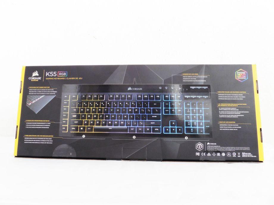 Corsair K55 RGB Gaming Keyboard Review