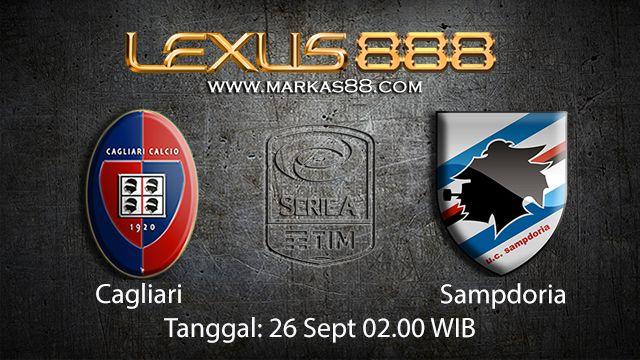 Prediksi Bola Jitu Cagliari vs Sampdoria 27 September 2018 ( Italian Serie A )