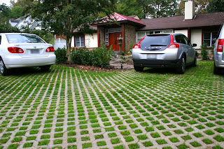 Grass Block Paving Berumput
