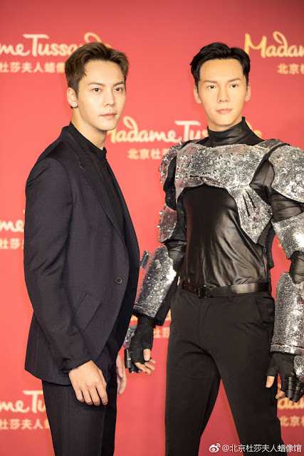 William Chan Beijing Madame Tussauds
