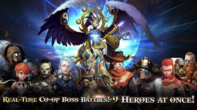 Game Heroes of Skyrealm Mod v1.1.0 Apk Hack