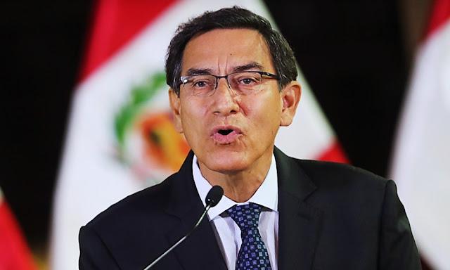 Martín Vizcarra, Presidente de la República del Perú