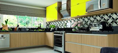 Aposte em móveis coloridos para mudar a decoração da casa