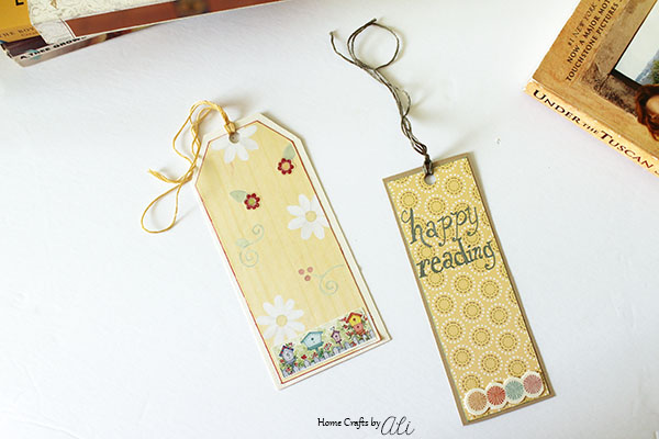 Easy to make DIY bookmark
