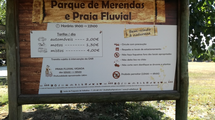 ESTACIONAMENTO PAGO - TARIFAS