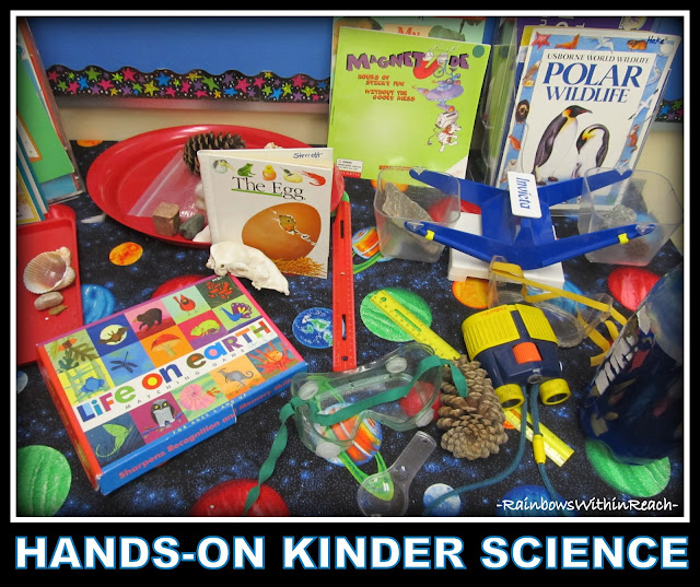 Science Center in Kindergarten