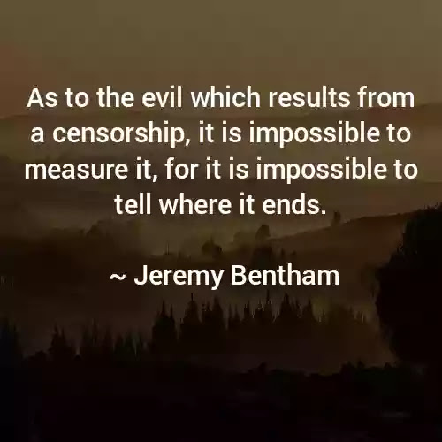 Jeremy Bentham Quotes in English