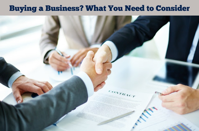 Buying a Business? What You Need to Consider