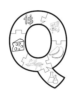 dibujos abecedario para preescolar