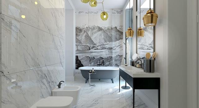 Pop Plus Minus Design For Bathroom