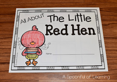 All About The Little Red Hen