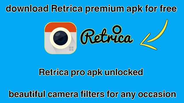 download retrica premium apk