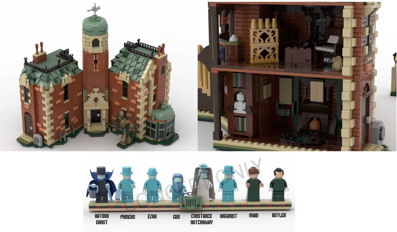 ホーンテッドマンション:50周年記念モデル:The Haunted Mansion: 50th Anniversary