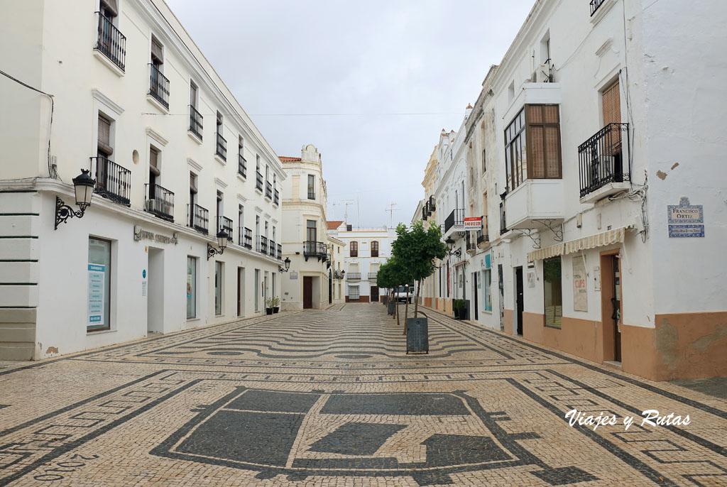 Calle Caridad de Olivenza