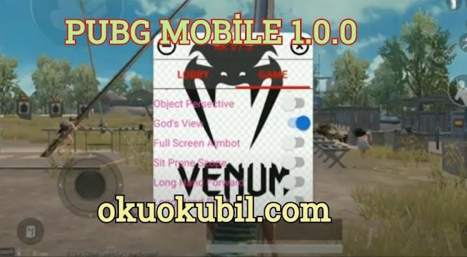 Pubg Mobile 1.0.0 Venom Hack v7.5 Shooter Vırtual Menu Çalışan ESP Hilesi Apk 2020