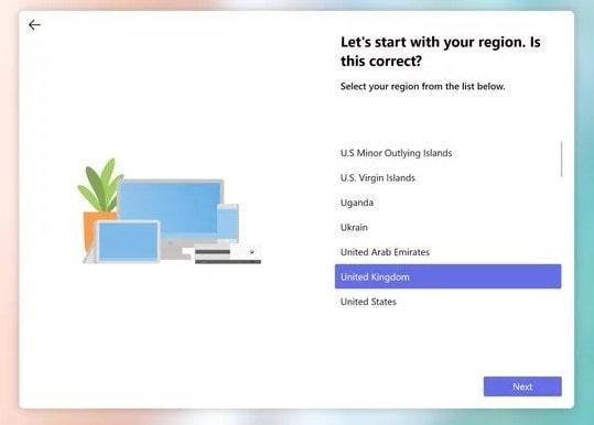 Pengalaman Set-Up Windows 10X