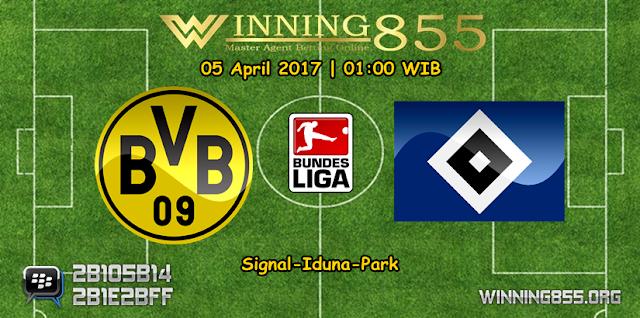 Prediksi Skor Borussia Dortmund vs Hamburger 05 April 2017