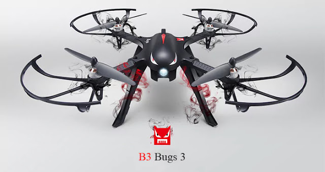Coupon MJX B3 Bugs 3 RC Quadcopter on Gearbest