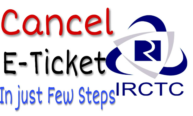 Cancel E-Ticket In Just Few Step